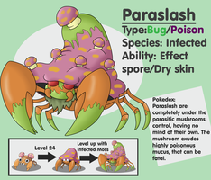 Fakemon: Paraslash by Sindorman