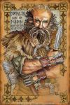 Hobbit Illumination, Dwalin by BohemianWeasel