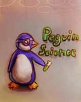 Penguin Science by charsita