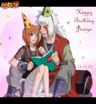 .: Happy Birthday Jiraiya-sensei :. by knilzy95
