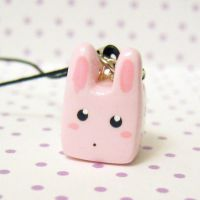 baby pink bunny by coonies