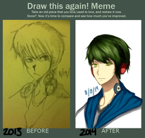 Draw This Again! Meme by karuchii