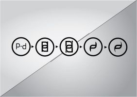 Process of Perfect Disguise logo by Osx86
