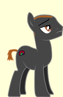 Mike Battos in Pony form by blackevil915