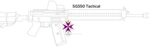 SG 550 Tactical by Kaymanovite