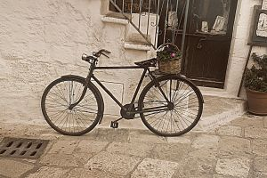 vintage bicycle by alasdair83