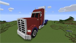 Transformers: Prime Optimus (Truck) - Front by NumairSalmalin