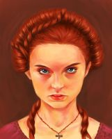 Sansa Stark by kimpertinent
