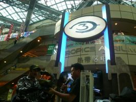 HALO 3 SYMBOL AT LAUNCH FAIR by victortky