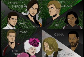 Hunger Games Poster by adsta