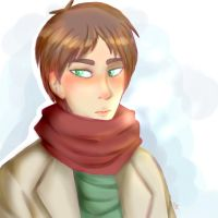 Eren Winter by galienyancats