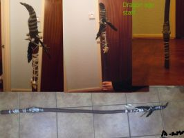 Dragon age origins: wooden mage staff by Earthsoul22