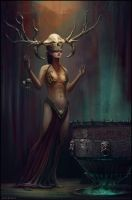 Deyanira - the witchdoctor by Chris-Karbach