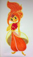Flame Princess by FrenchieFryy