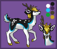 Deer Design Contest by Yo-Angie