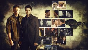 Supernatural Destiel by Sidhrat