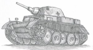 PzKpfw II Luchs by TimSlorsky