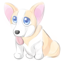 Corgi by Sharkwellington