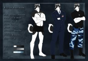 Victor Anderson-Reference Sheet. by the-MadDog