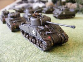 (FoW) 1st Polish Armoured Division (3) by Quenta-Silmarillion