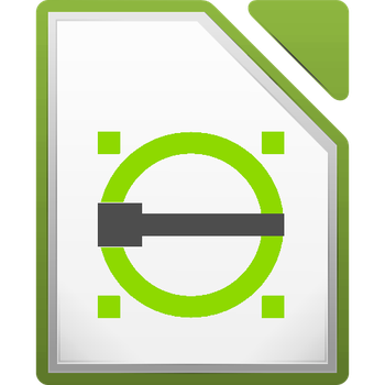 Librecad icon .svg and .png by Dolsilwa