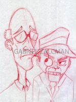 The Ventriloquist by gabo2020