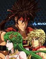 EVO: Fighting Games Mains by RatedShadowHaruhi