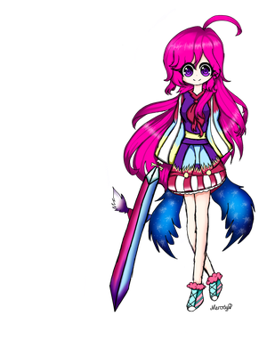 Melody anime PNG by Merody-Heart