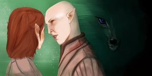 Dragon Age Inquisition: Solas by AgentKnopf