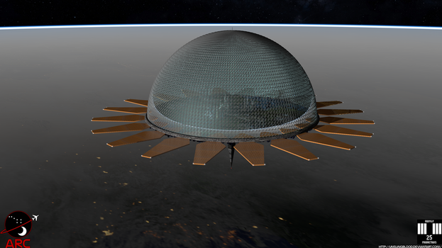 U.N. Aerospace Research Center A.R.C. Top View by UnsungBlood