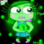 Inside Out Fanart Contest Art - Disgust by InsideOutGirlKatie