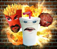 Realistic Aqua Teen Hunger Force by mattmcmanis