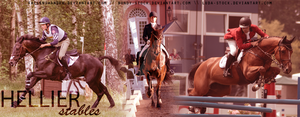 Hellier Stables Banner by FallenShandeh