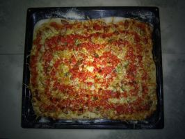 My pizza cooking creation by rusakov