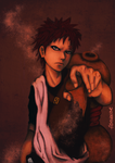 Sabaku no GAARA by fishydotlove