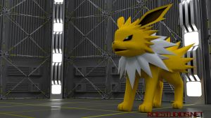 Jolteon - Stardeck [3D Model] by TheModerator