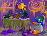 mess who's coming to dinner by bimshwel