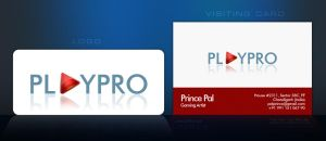 Branding Playpro: Logo+V.Card by princepal