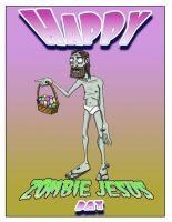 Happy zombie jesus day by BrainTreeStudios