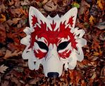 Canadian Wolf Mask by merimask