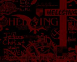 Hellsing Logos + Inscriptions by mistressmariko