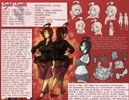 Sybil Character Sheet by ExiledChaos