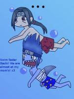 Itachi and Kisame xD by AllYouNeedIzLuv