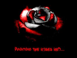 Were Painting The Roses Red... by GothicaEmpress