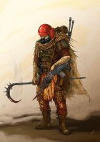 warrior of blood pact by Skirill