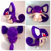 Rattata pokedoll by LRK-Creations