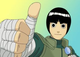 Rock Lee: Happy birthday by Simba83