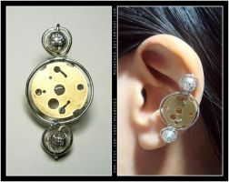 Full Moon ear cuff by Meowchee