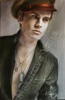 Paul Wesley by Makarova17