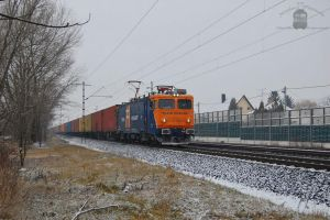 40 0582 with container train in Gyorszentivan by morpheus880223